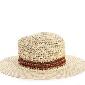 NEW Straw Floppy Hat - Crown Vintage